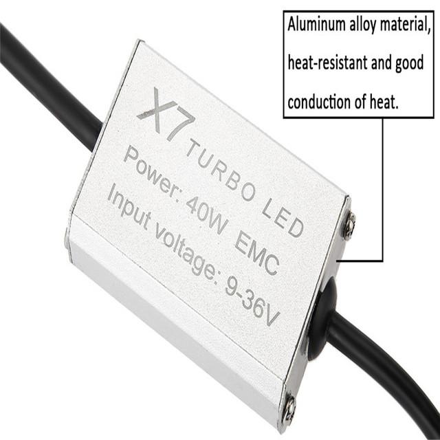 New Vehicle Headlamp Cold White Led H7 6000K X7 LED Headlight Bulbs All-in-one Conversion Kit Car Headlight Auto Front Fog Light