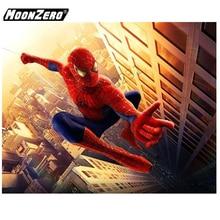 2018 New Fashion 5D DIY Diamond Spider-Man Crystal Diamonds Full Square Cross stitch Hand Sewing Home Decor Se tWYZ18647