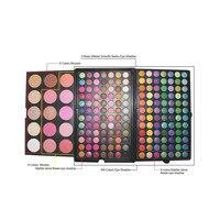 Full Professional Makeup Set 183 Color Eyeshadow Palette Set Make Up Pallete 168 Eye Shadow 15