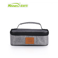 Flat Square Insulation Package Lunch Bags Ladies Warm Food Picnic Boxes Fast Delivery Aluminum Thermo Cooler