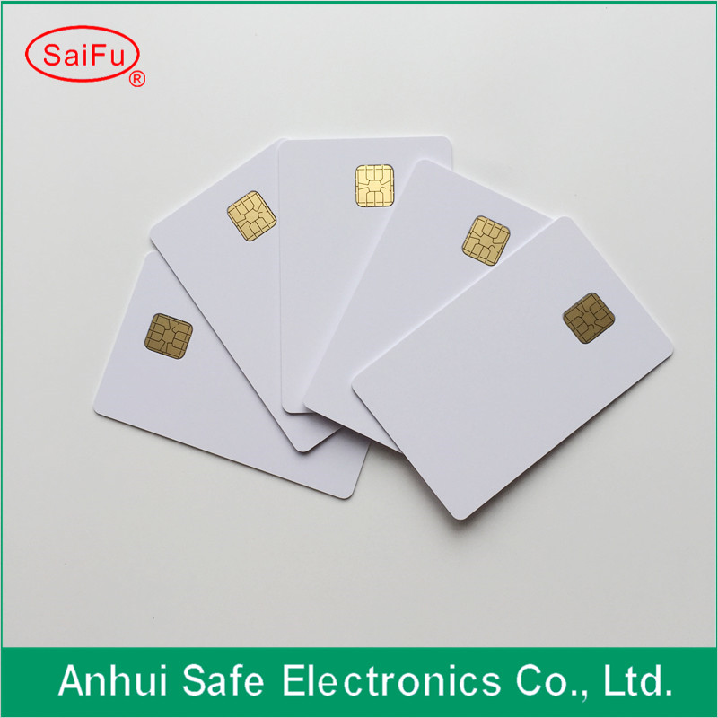 Back To Search Resultsoffice & School Supplies Orderly New White Blank Pvc Inkjet 4428 Contact Ic Card With Sle 4428 Chip Smart Card For Inkjet Printer
