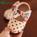 0-1-2Years Old Baby Girl Shoes 2016 Autumn New Korean Dot Female Baby shoes Infant Princess Baby Girls Shoes Toddler Soft Shoes