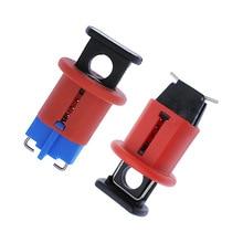 Автоматический выключатель замок Электрическая безопасность блокировка миниатюрный воздушный выключатель Блокировка для изоляции питания распиновка