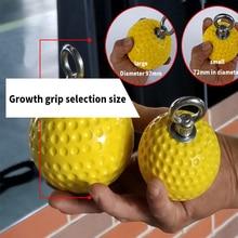 97 мм подтягивающие шары cannonball ручки для пальцев силовой тренажер рука мышцы практика тренировочный инструмент твердое сцепление сила мяч