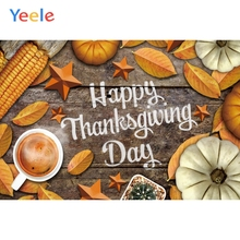 Yeele Thanksgiving Family Party Pumpkin Harvest Photography Backdrops Personalized Photographic Backgrounds For Photo Studio