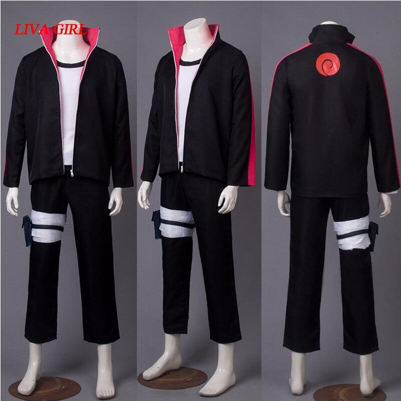 Japon Naruto théâtre édition blog biographie whirlpool Bo cosplay vêtements COS animation enfants montrent des vêtements