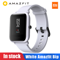 Amazfit Bip Golbal Version Xiaomi Amazfit Bip Smart Watch Huami Miband Pace Lite Gloness Smartwatch Heart Rate For Phone MI8 IOS