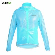 WOSAWE Летняя мужская и женская велосипедная дождевик водонепроницаемая ветрозащитная куртка велосипедный велосипед Сверхлегкий Полиамид ветрозащитная куртка