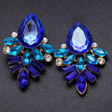 Новые женские модные ювелирные изделия стильные синие/черные/розовые