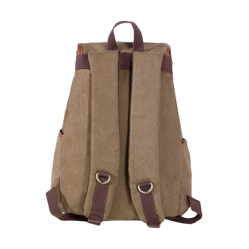 Best Sellers Canvas Backpack Classic fashion women s small fresh School Bag  Travel Bags Large Capacity Travel Backpack Bag-in Backpacks from Luggage    Bags ... dd9ce982dbad9