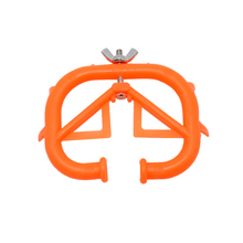 50 Pcs Farm Animal Equipment Orange Durable Plastic Calf Cow Cattle Weaning Weaner Anti Sucking Milking Stop Kit Products