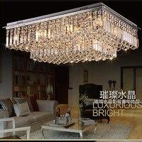 Потолок light110/220 walt светодио дный потолочный светильник chandleer гостиная светильники современный кристалл промышленных декора спальни татами