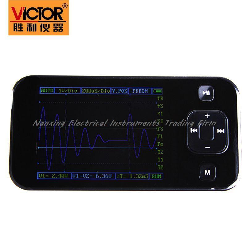 Fast arrival Victor original pocket oscilloscope VICTOR 101 handheld oscilloscope VC101 oscilloscope 200KHZ