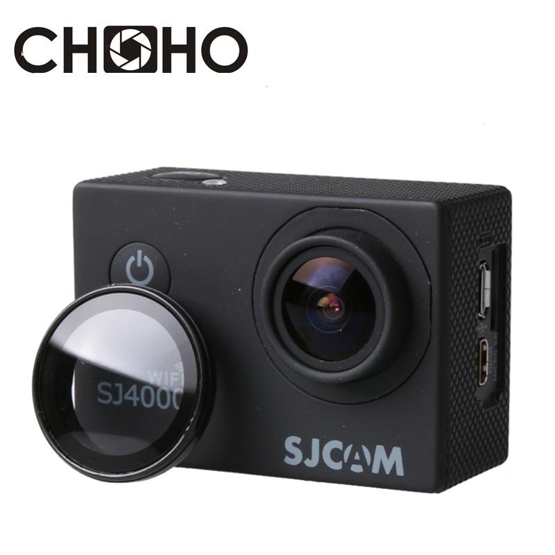 SJ4000 UV Filter Cover Lens For SJCAM Wifi SJ4000 SJ4000plus Protective Optical Glass Lens Cover Filter Accessories