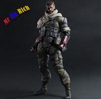 Arts Kai Solidus Snake Metal Gear Solid Ground Zeroes Pa27Cm Pvc Action Figure Doll Giocattoli Per Bambini Regalo Brinquedos