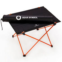 Portable Foldable Table Folding Desk Camping Traveling Outdoor 7075 Aluminium Alloy Light Lowest Price in Aliexpress Table(China)