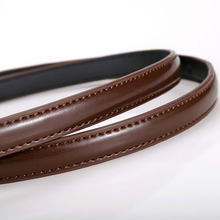 Colors Thin Pu Leather Female Belt