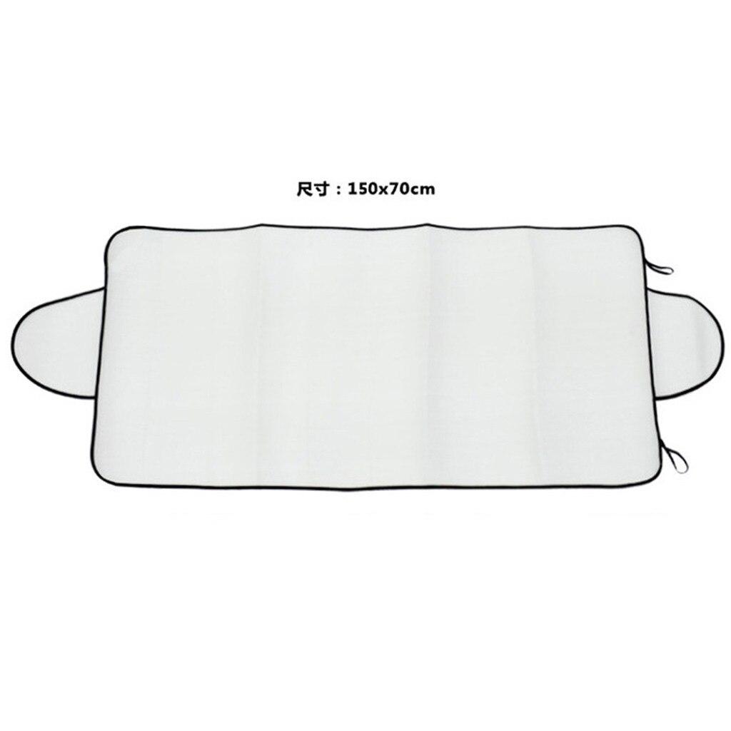 Ветровое стекло снежное покрытие для удаления льда стеклоочиститель козырек протектор для любой погоды зима лето солнцезащитный козырек