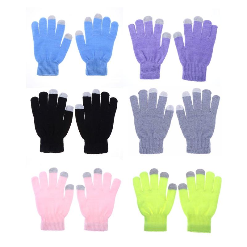 6 Colors Women Winter Windproof Warm Cycling Full Finger Gloves Outdoor Sports MTB Bike Bicycle Skiing Touch Screen Gloves