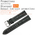 ZLIMSN Genuine Leather Watch band for Tissot Rolex Omega Watch Strap 20-24mm Watchband Reduced prices activities Discount of 60%