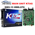 Alta Qualidade da Unidade Principal de KTAG V2.13 HW6.070 Multi-Linguagem Funciona Para Mult-Carros/Caminhões K TAG 2.13 Sem Tokens Limitada K-TAG MELHOR
