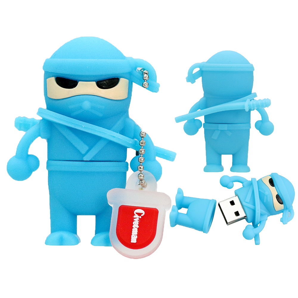 Cartoon Ninja. USB Stick Flash-geheugen Naruto 8 GB 16 GB 32 GB 64 GB - Externe opslag - Foto 3