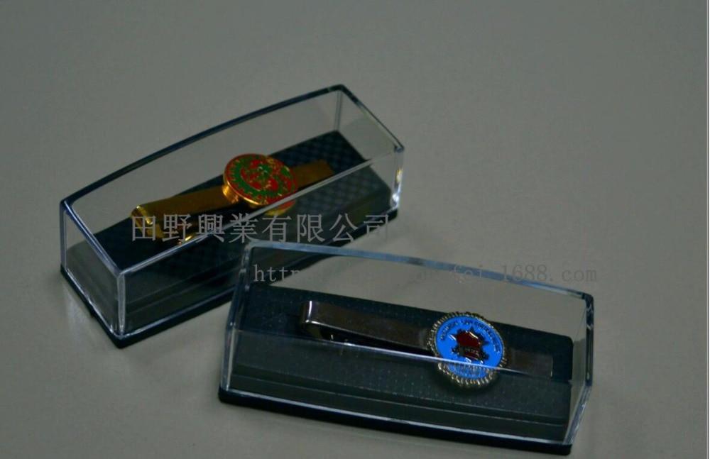 พลาสติกใสผูกคลิปกล่องกล่องของขวัญผูกคลิปผู้ถือจอแสดงผลการจัดเก็บกระเป๋าขายส่ง1000ชิ้น/ล็อต8x3x2.6เซนติเมตร-ใน บรรจุภัณฑ์อัญมณีและที่ตั้งโชว์ จาก อัญมณีและเครื่องประดับ บน   1