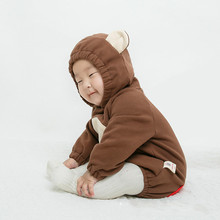 2018 Spring Long Sleeves Clothing Cute Brown Monkey Style