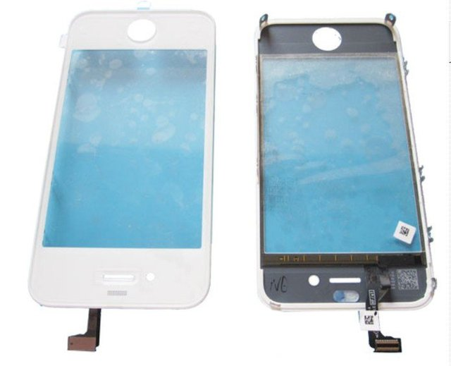 For iPhone 4G digitizer with lcd frame, all brand new + Free shipping!!!