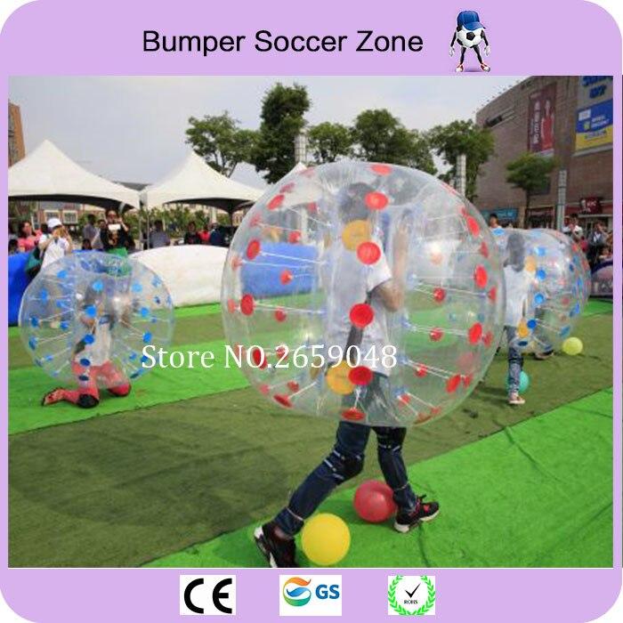 Diametro 1.5 m PVC Bolla di Calcio Per Adulti Calcio Bolla Paraurti Palla di Criceto Umana gonfiabile Sfera Dello Zorb Completo In Vendita All'aperto giocattolo - 5