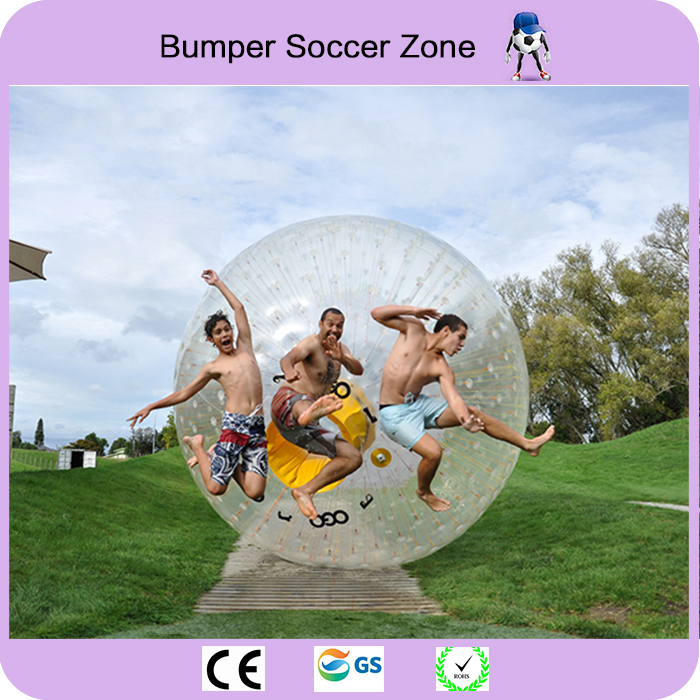 Free Shipping Top Quality Dia 2.5m Inflatable Grass Ball Zorb Ball Body Ball Inflatable Zorb free shipping 3m pvc inflatable playground zorb ball for kids human hamster ball grass zorbing ball durable zorb ball