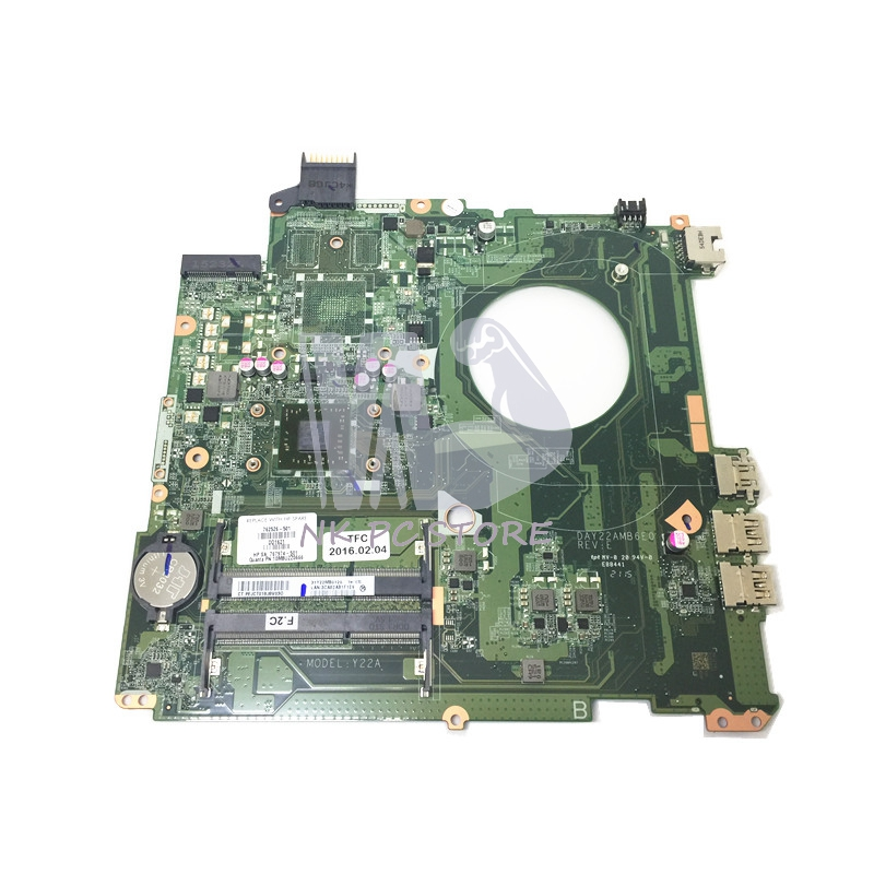 NOKOTION 762526-501 762526-001 Main Board For HP Pavilion 15-P Laptop Motherboard DDR3 A8-6410M CPU Full tested laptop motherboard fit for hp g62 notebook pc main board 615847 001 615848 001 ddr3 100% tested
