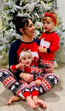 Купить с кэшбэком Family Christmas Pajamas Set Dropship Matching Family Outfits Warm Adult Kids Girls Boy Mommy Sleepwear Mother Daughter Clothes