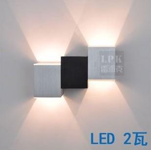 LED fali lámpatest Sconces dekorációs lámpatest lámpa izzó - Beltéri világítás