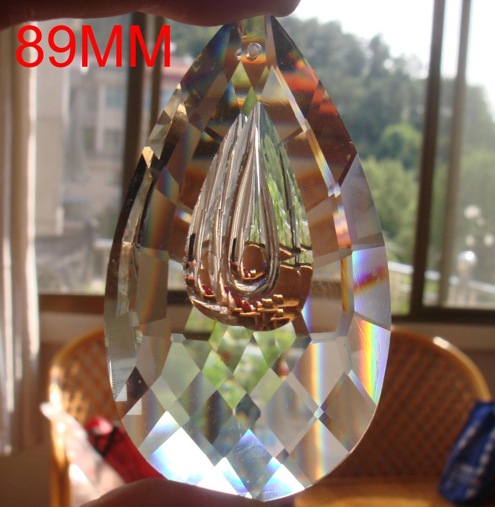 Popular Crystal Chandelier Accessories-Buy Cheap Crystal ...:60pcs/lot 89mm crystal lighting accessories crystal chandelier part pendant  SUNCATCHER Crystal Chandelier Parts free,Lighting