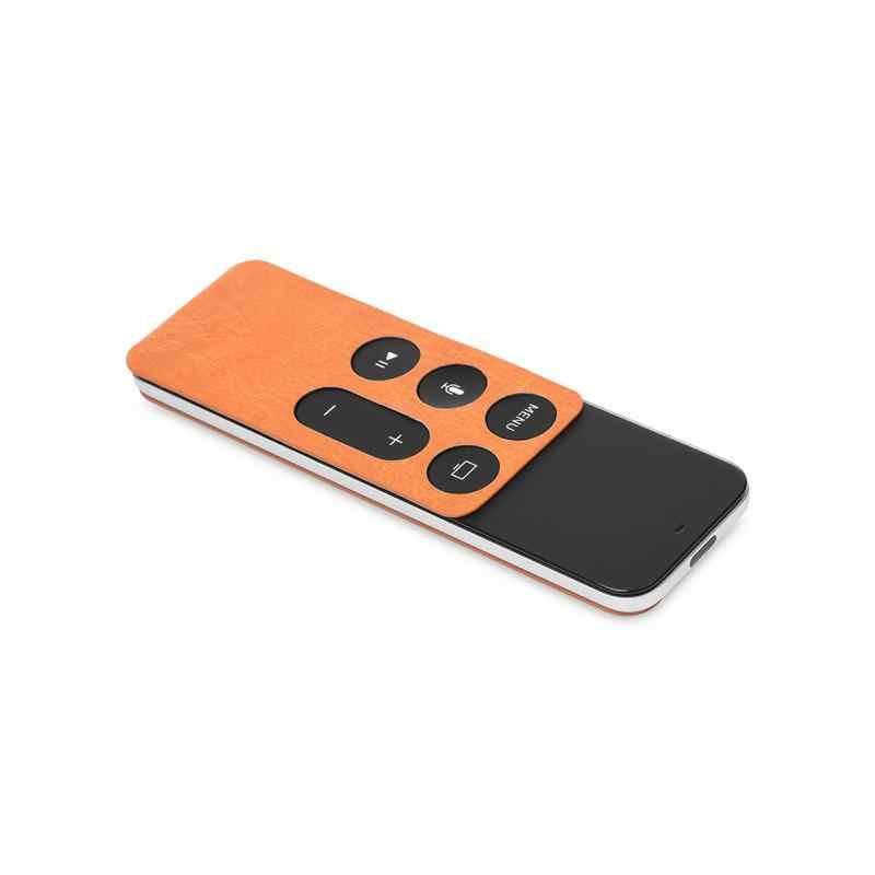 Cam Điều Khiển Từ Xa Covers PU Bảo Vệ Trường Hợp Skin Bìa Đối Với Apple TV 4 Điều Khiển Từ Xa