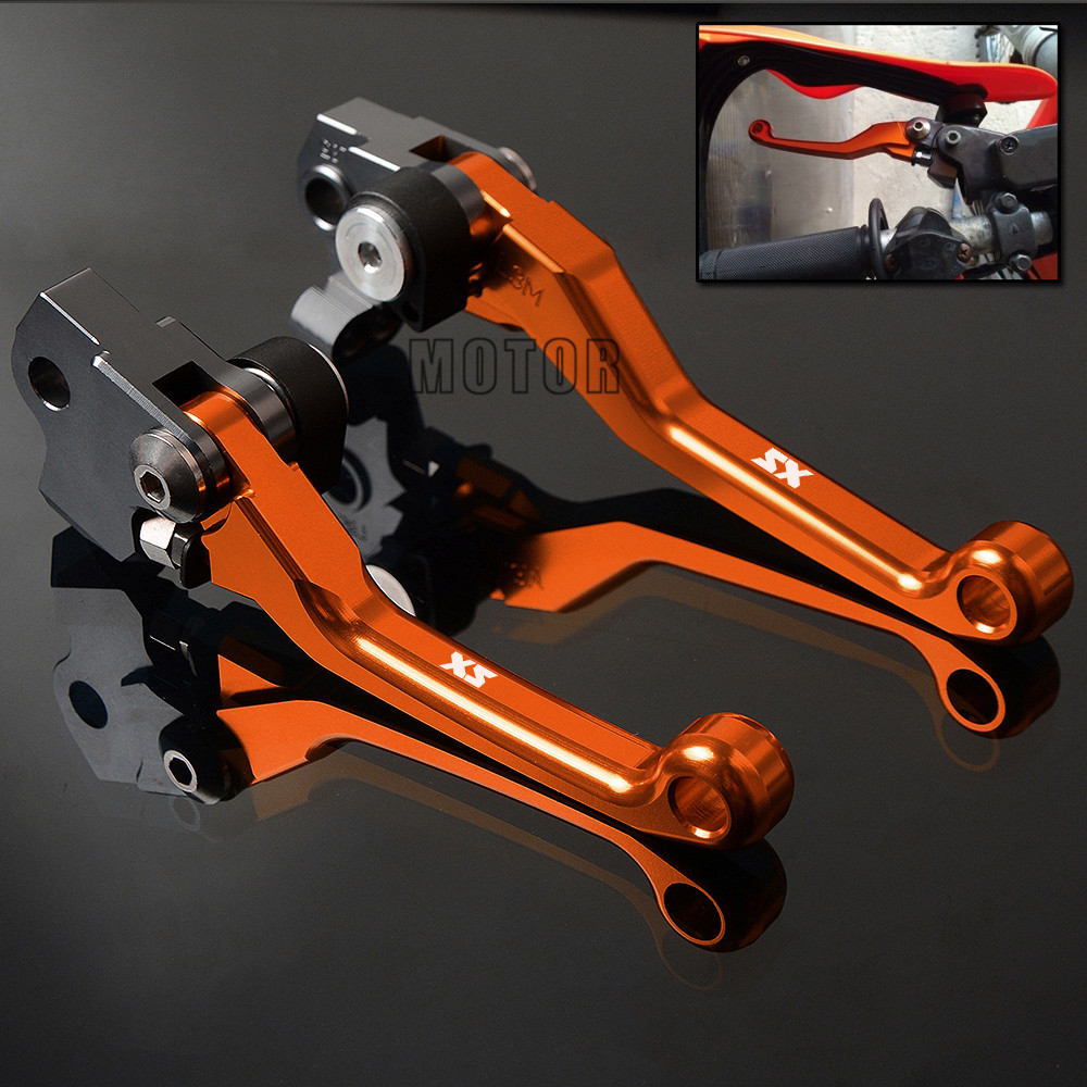 Motorcycle Dirt Bike Brake Clutch Levers For KTM 65SX 85SX 250SX 450SX 525SX Motocross C ...
