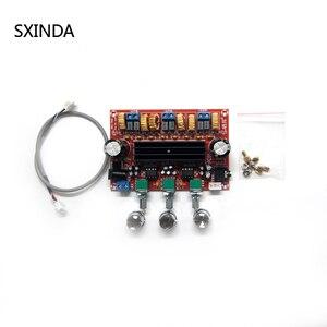 Image 2 - 10pcs TPA3116D2  2.1 Digital  Amplifier Board 80W*2+100W Subwoofer 2.1 amplificador for 4 8 ohm SpeakerDC24V XH M139