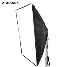 ASHNAKS софтбокс световой комплект 50x70 см фотостудия палатка с одним держателем лампы для E27 непрерывного освещения фототехники