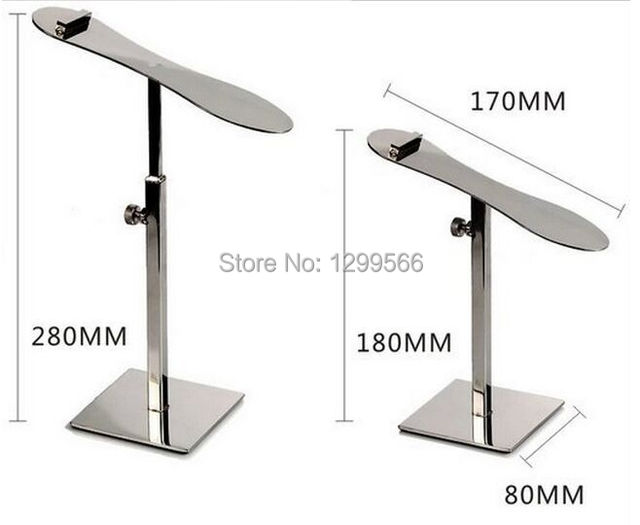 Fashion Mirror Surface Stainless Steel Shoes Store Metal