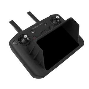 Image 3 - Mavic 2 Akıllı uzaktan kumanda ile ekran silikon koruma kapağı güneş gölge hood dji mavic 2 pro zoom drone