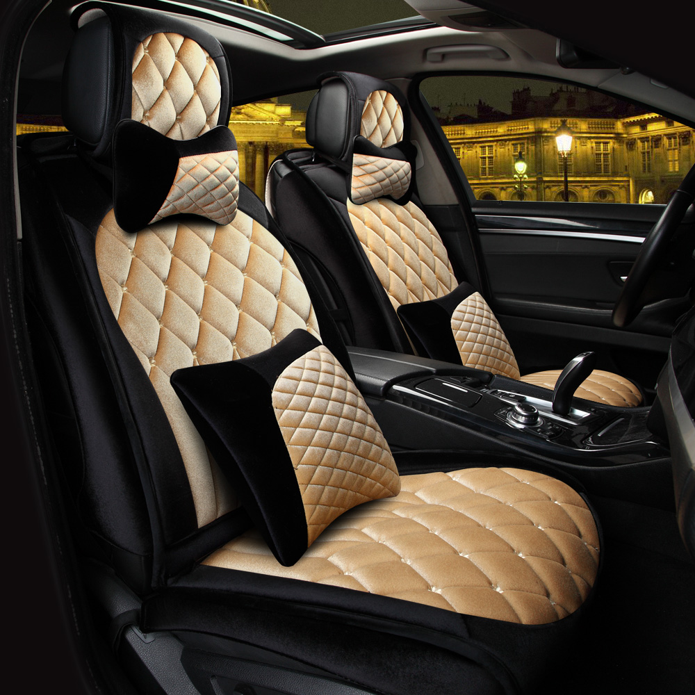 3D Sport Car Seat Cover General Cushion Green Fabric Car Styling For LEXUS,RX, ES, CT ,GX etc