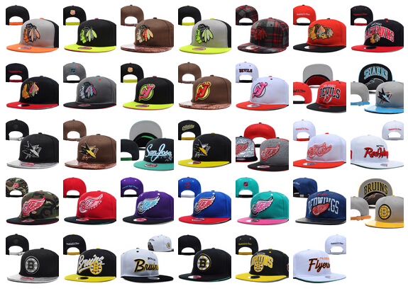dbf226861ba All Team Hockey Snapbacks Cheap Hockey Cap Fashion Hip Hop Hat Adjustable  Beach Sports Hat Flat Cap Summer Ball Caps Sun Hats-in Baseball Caps from  Apparel ...
