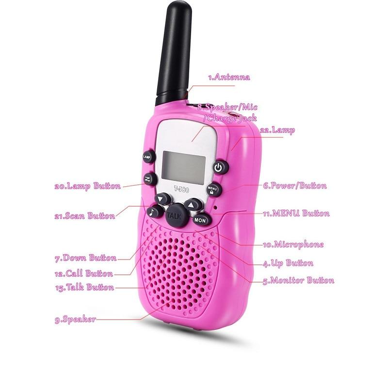 Child Kids Walkie Talkie Parenting Game Mobile Phone Telephone Talking Toy 5-8KM Range for kids (7)