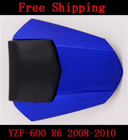For Yamaha YZF 600 R6 2008 2009 2010 motorbike seat cover High quality Motorcycle Blue fairing rear sear cowl cover for yamaha yzf 600 r6 2008 2009 2010 motorbike seat cover high quality motorcycle yellow fairing rear sear cowl cover