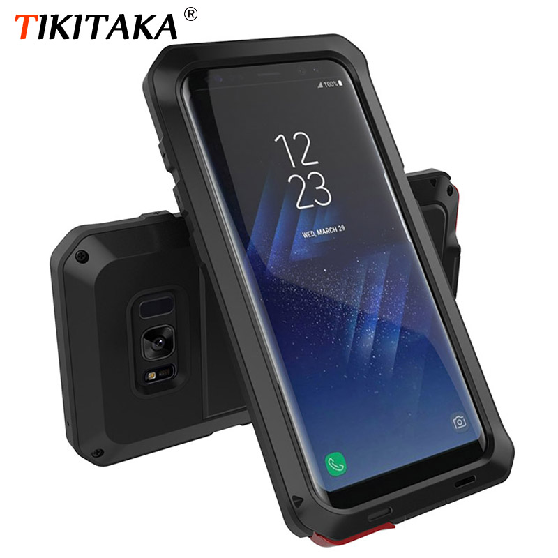 Metal Military Anti-Knock Dustproof Shockproof Armor Case For Samsung Galaxy S8 S9 Plus S7 S6 Edge S5 S4 Note 8 5 4 3 S9 Cover