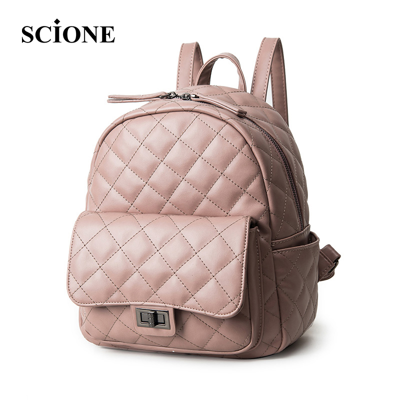 Women Backpacks 2017 Hot Sale Fashion Causal School Bags PU Leather Backpack For Teenager Girls Rucksack
