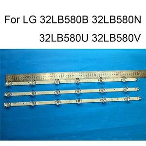 Image 1 - ยี่ห้อใหม่LED BacklightสำหรับLG 32LB580U 32LB580B 32LB580N 32LB580Vซ่อมทีวีLED Backlightแถบบาร์Bประเภท6โคมไฟ