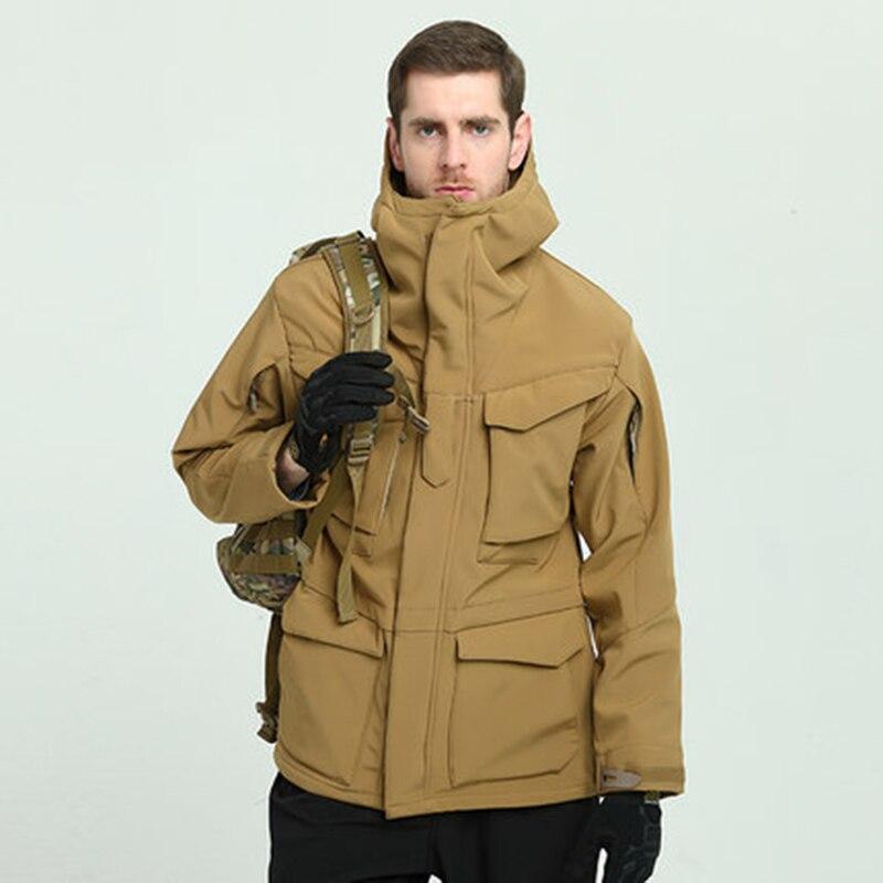 Us Uk M65 Outdoor Windbreaker Jacket With Inner Soft Shell Men Windbreaker Jacket Combat Tactical Military Thicken Winter Jacket Sports & Entertainment