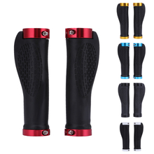 1 Pair Bicycle Grips MTB Bike Handlebar Grip Anti-Skid Rubber Mountain MTB Cycling Bicycle Grips Parts For Bicycles Accessories